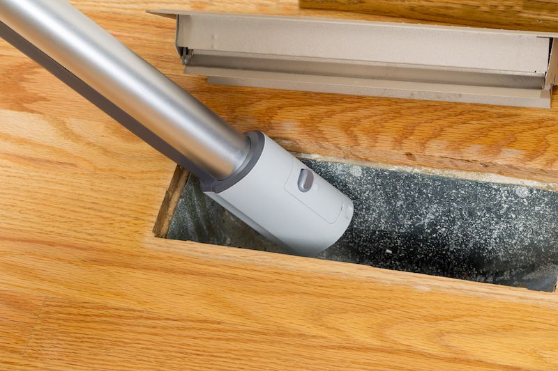 Cleaning Air Ducts with a Vacuum